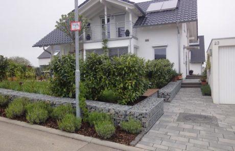 GaLaBau-Lorch | Referenzen - Gabionen 3