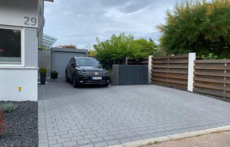 GaLaBau-Lorch | Referenzen - Garagenzufahrt 12