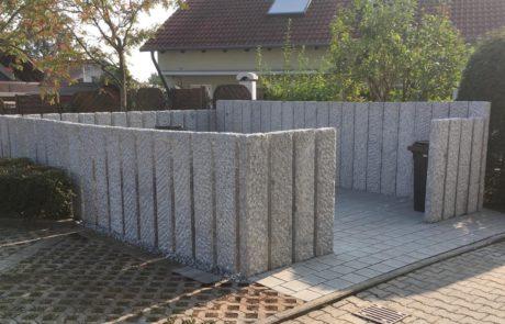 GaLaBau-Lorch | Referenzen - Mülltonneneinfassung 2