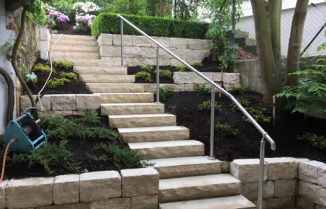 GaLaBau-Lorch | Referenzen - Treppenanlage 4